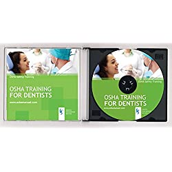 2019 OSHA Training CD for Dental Offices including built-in Tests + Certificate