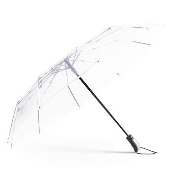 énorme réduction 911c6 bd0b7 Parapluie pour Homme et Femme Parapluie Transparent Pliant ...
