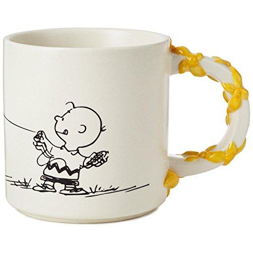 Hallmark Peanuts Charlie Brown With Kite Handle Mug, 12 oz. - Handle Peanut