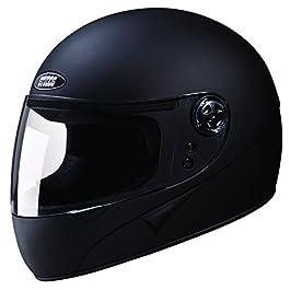 Studds Chrome Super Helmet Matt BK (L)
