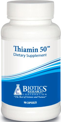 Biotics Research Thiamin 50 90 Capsules