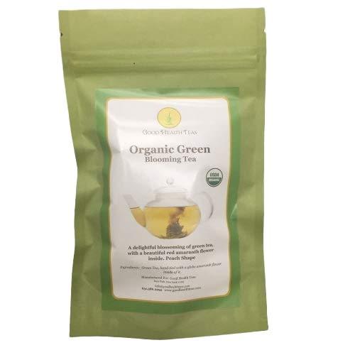 (Organic Green Blooming Tea - 8)