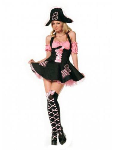 [3 Pc. Treasure Hunt Pirate Costume Outfit] (Leg Avenue Treasure Hunt Pirate Costume)
