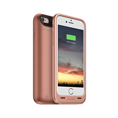 Mophie Juice Pack Air - Slim Protective Mobile Battery Pack Case for iPhone 6/6s (Renewed) (Rose Gold)