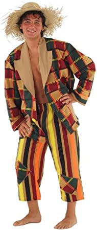Disfraz de espantapájaros para Hombre Talla L Vagabundo ...