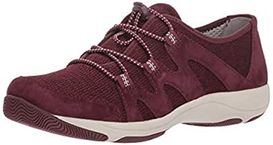 dansko Women's Holland Sneaker, Wine Suede, 36 M EU (5.5-6 US)