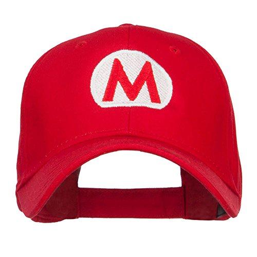 Mario Luigi Wario Waluigi Embroidered Cap - Red OSFM