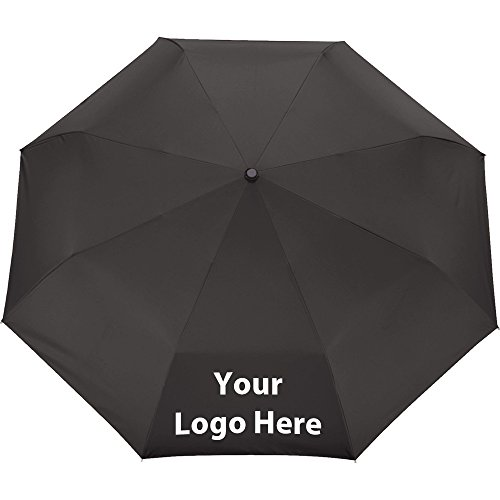 54'' Auto Open/Close Folding Umbrella - 36 Quantity - $23.00 Each - PROMOTIONAL PRODUCT / BULK / BRANDED with YOUR LOGO / CUSTOMIZED by Sunrise Identity