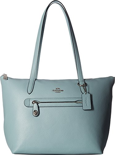 - COACH Women's Taylor Tote Sv/Light Turquoise One Size