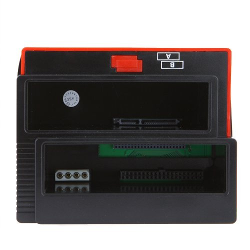TOOGOO(R)2.5/3.5' SATA IDE HDD soporte de disco duro / base de disco duro / caja de HDD / Acoplamiento vertical / Base de conexion para disco duro / Docking Station Clone con USB 2.0 HUB 051773