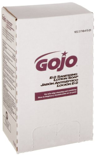 GOJO PRO TDX E2 Sanitizing Lotion Soap, Fragrance-Free, 2000 mL Sanitizing Soap Refill for GOJO PRO TDX Push-Style Dispenser (Case of 4) - 7280-04 by Gojo (Image #1)