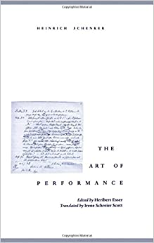 Book The Art of Performance