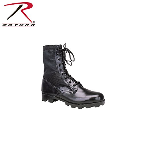 Rothco Steel Toe Jungle Boot, Black, 10R (Jungle Steel Toe)