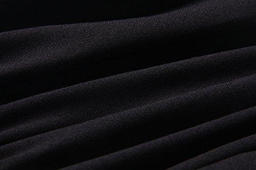 Mujer Blusa, Elevesee Mujeres de la camiseta sin mangas Casual Tops de cultivos Blusas Negro