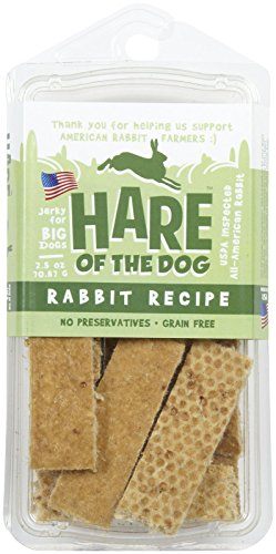 Hare of the Dog Rabbit Jerky Big Dog Treat