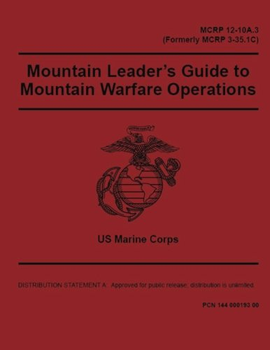Marine Corps Reference Publication MCRP 12-10A.3 (Formerly MCRP 3-35.1C) Mountain Leader's Guide to Mountain Warfare Operations 2 May 2016 pdf