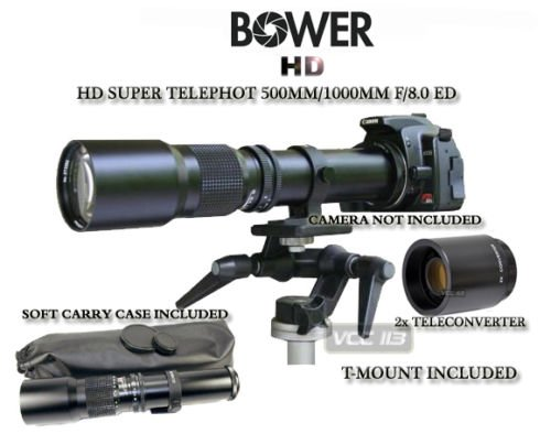 Bower 500mm/1000mm Telephoto Lens for Nikon D7000 D7100 for sale  Delivered anywhere in USA