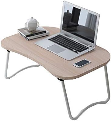 SxsZQ Fácil de llevar mesa plegable, pequeño escritorio para el ...