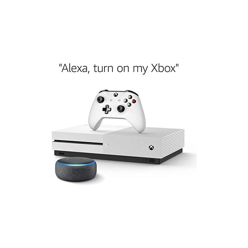 Xbox One S 1TB Console - NBA 2K19 Bundle + Echo Dot (3rd Gen) Charcoal
