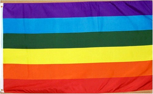3ft-x-5ft-Rainbow-Flag-Printed-Polyester-Garden-Lawn-Supply-Maintenance
