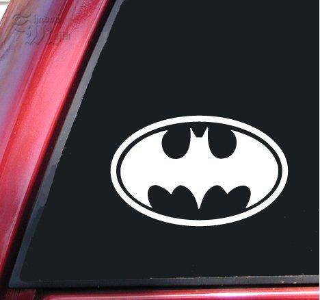ShadowMajik Batman Bat Symbol Vinyl Decal Sticker (6