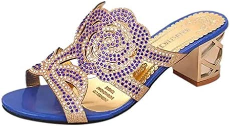 ボコダダ(Vocodada)サンダル 通勤靴 おしゃれ 流行 カジュアル 旅行 歩きやすい 便利 靴 美脚 彼女 女性 無地 痛くない 大学生 バレンタイン 人気INS 魚の口 花 レディースサンダル ラインストーン ホロウ 太いヒール オープントゥ