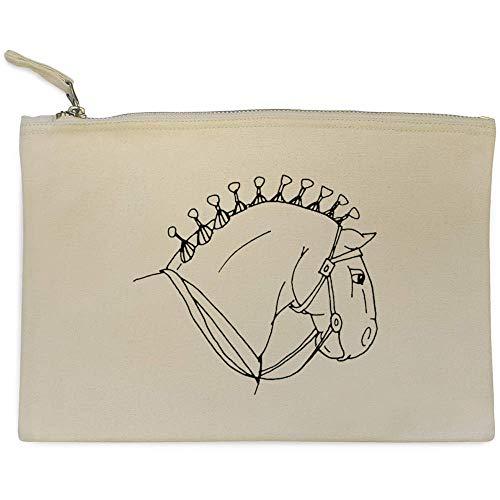 di Caso Accessori 'Testa Cavallo' Azeeda cl00002651 Pochette Sq0w11