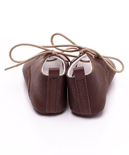 Toma - Zapatos primeros pasos de cuero para niño Brown - BROWN