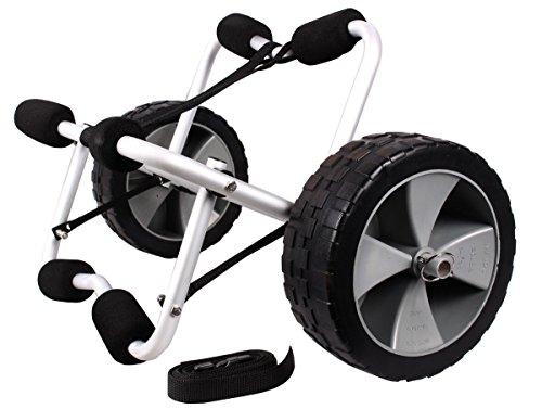 Boat-Kayak-Canoe-Carrier-Dolly-Trailer-Tote-Trolley-Transport-Cart-Wheel-Wstrap
