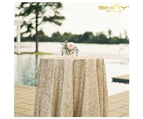 50''x50'' Square Matte Gold Sequin Tablecloth Select Your Color & Size Can Be Available ! Sequin Overlays, Runners, Gatsby Wedding, Glam Wedding Decor, Vintage Weddings]()
