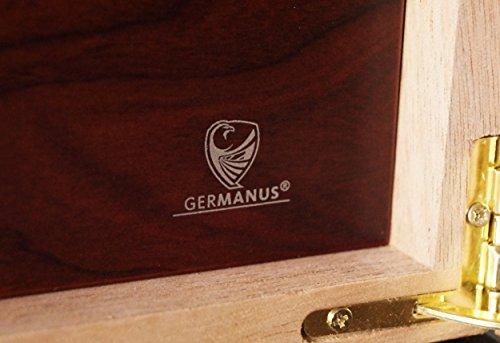 """GERMANUS """"Viadrus Humidor Armadio de Marque con Digital igrometro Cristallo Umidificatore per i Sigari 7 spesavip"""