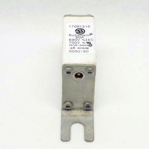 Bussmann 170M1322 fuse 690Vac 315amps 200ka square body Without indicator UL recognition by Bussmann