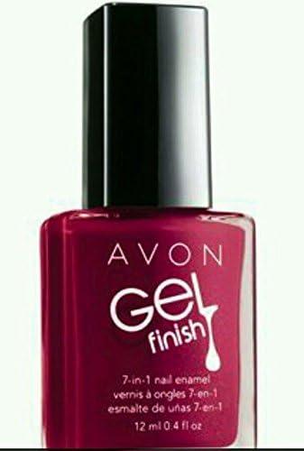 Avon Berry Shimmer Gel Finish Nail Enamel M Amazon Co Uk Beauty