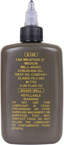 LSA Weapon Oil US Made Genuine GI Army Military Gun Rifle Pistol Firearm Lubricant Protectant 4 oz. (Best Us Made Pistol)