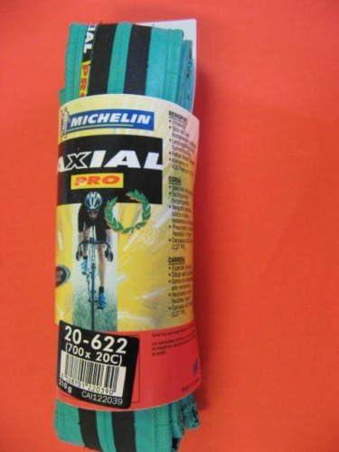 Michelin Pneu AXIAL PRO Vert//Noir 700X20C