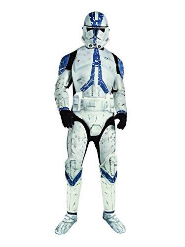 Star Wars Men's Deluxe Clone Trooper Costume