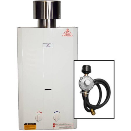 Eccotemp L10 Portable Tankless Water Heater (Gas Water Heater Reviews compare prices)