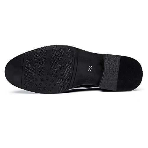 38 Hollow Scarpe Matte shoes Dimensione uomo Up da Carving Genuine uomo da 2018 basse Marrone Lace EU Color Leather Primavera Fang Nero Estate wRnPSAqpp