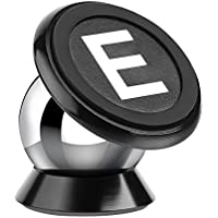 Universal Magnetic Car Mount, ELECCTV 360 Degree Rotation Cell Phone Holder for any Phone /Ipad vacuum plating strong magnetism ball-joint rotation design,Sticks on Any Flat Surface