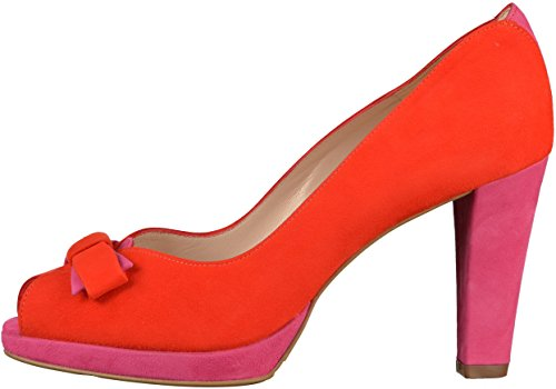 Womens Kaiser Pumps Peter Red Pink 01157 AgqxwEHx