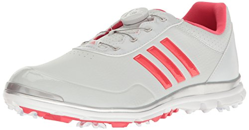 adidas Women's W Adistar Lite Boa Clgrey Golf Shoe, Clear/Grey, 8.5 M US