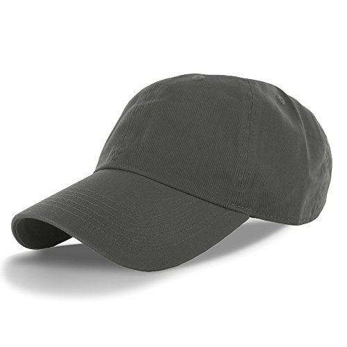 Plain 100% Cotton Hat Men Women Adjustable Baseball Cap (30+ Colors) Olive One Size (Logo Canvas Cap)