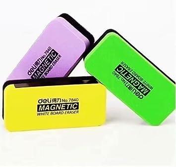 Waymeduo Borrador magnetico pa pizarra multicolor eraser