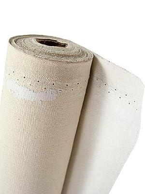 Fredrix Acrylic Primed Cotton Duck Canvas - Tara Style 70 53 in. x 30 yds. roll