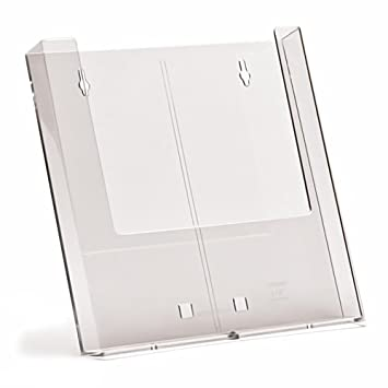 Leaflet holder dispenser wall mount brochure box DL A5 A4 in discounted packs