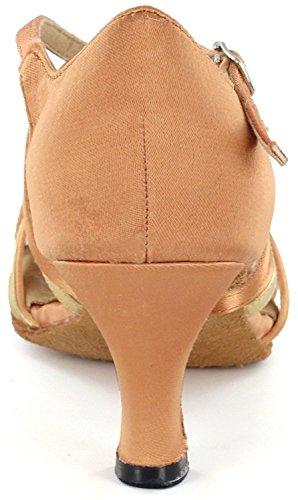 DSOL Dance Latin Shoes 6 Flesh Women's cm DC1623 5 1 Heel ABpqPAwW