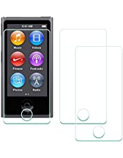 Screen Protector for iPod Nano 7 8 Generation [3Pack], ULBTER Tempered Glass for iPod Nano 8th 7th 9H Hardness Anti-Scrach Anti-Bubble