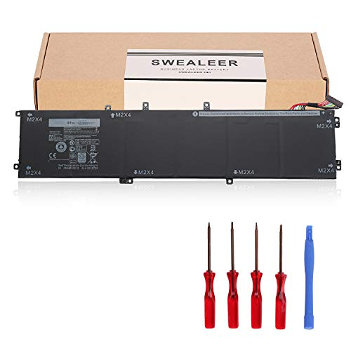 SWEALEER Compatible 4GVGH Battery if Applicable Dell XPS 15 9550 Precision 5510 Replacement for 1P6KD 84Wh High Capacity Laptop Batteries [New Li-ion 6-Cell 11.4V 18 Months Warranty 4GVGH]