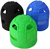 WDPB Silicone Paintball Tank Grips (Black)