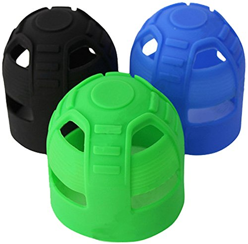 WDPB Silicone Paintball Tank Grips (Blue) by WDPB